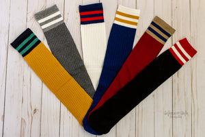 Rugby Stripe Tube Socks