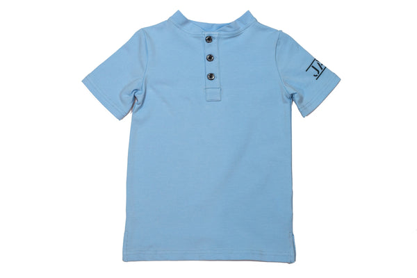 JAX Light Blue Henley