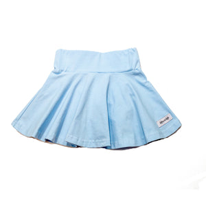 Light Blue Twirl Skirt