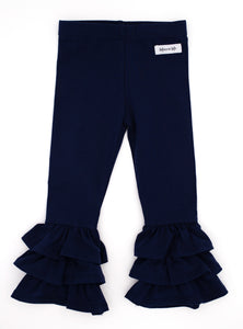 Midnight Rosie Ruffle Pants