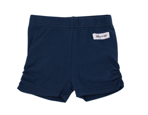 Navy Ava Ruched Undershorties