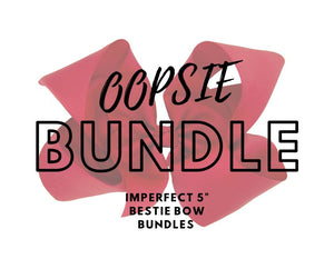 Imperfect Bestie Bow Bundles - 6 colors