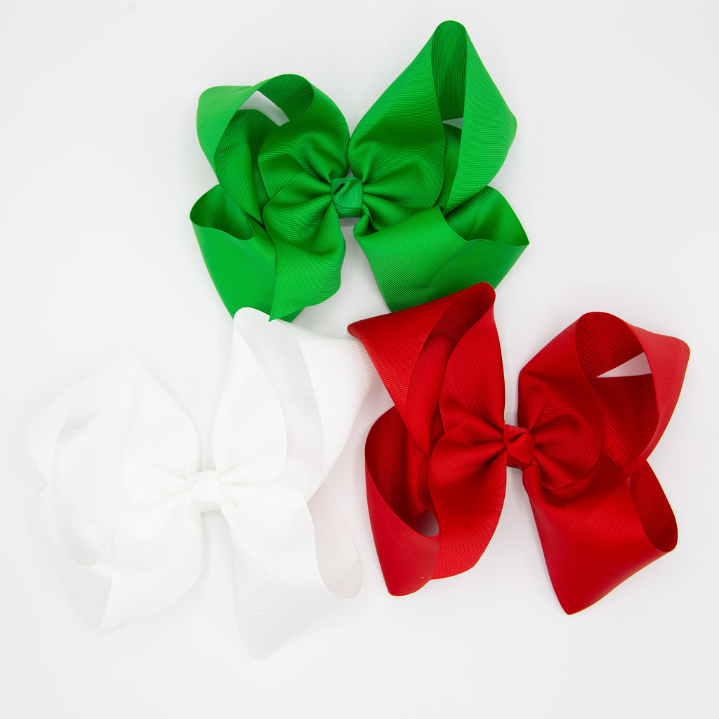 "8"" Bestie Bows -- 4 colors to choose from!"