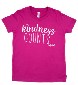 Berry Kindness Counts Tee -- Youth