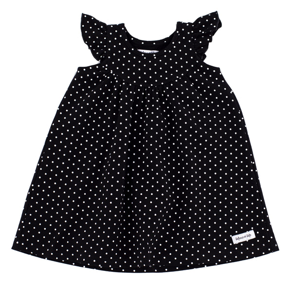 Black Dot Pretty Pearl Dress