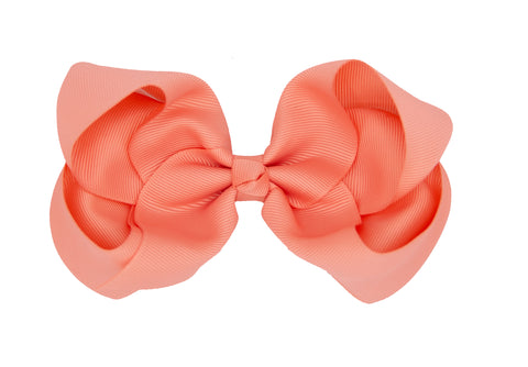 Coral Bestie Bows