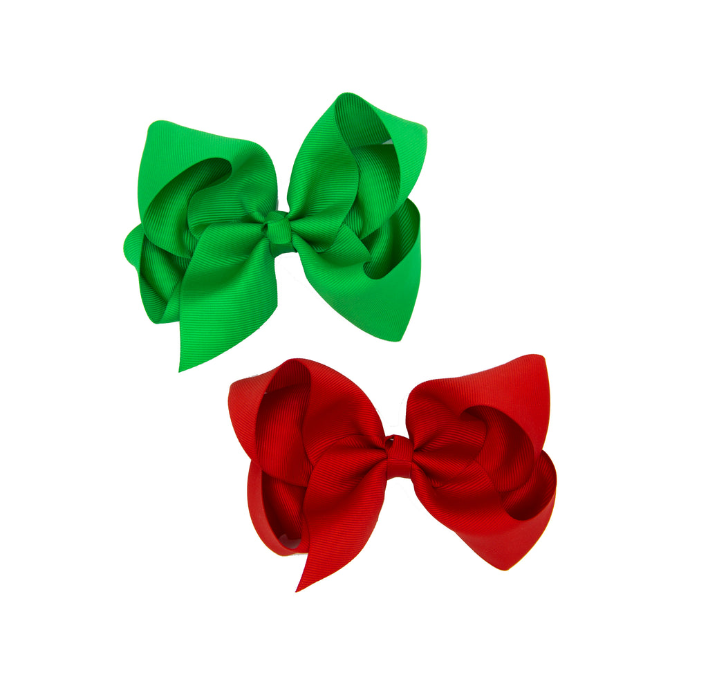 Christmas Grinch Bow Bundles