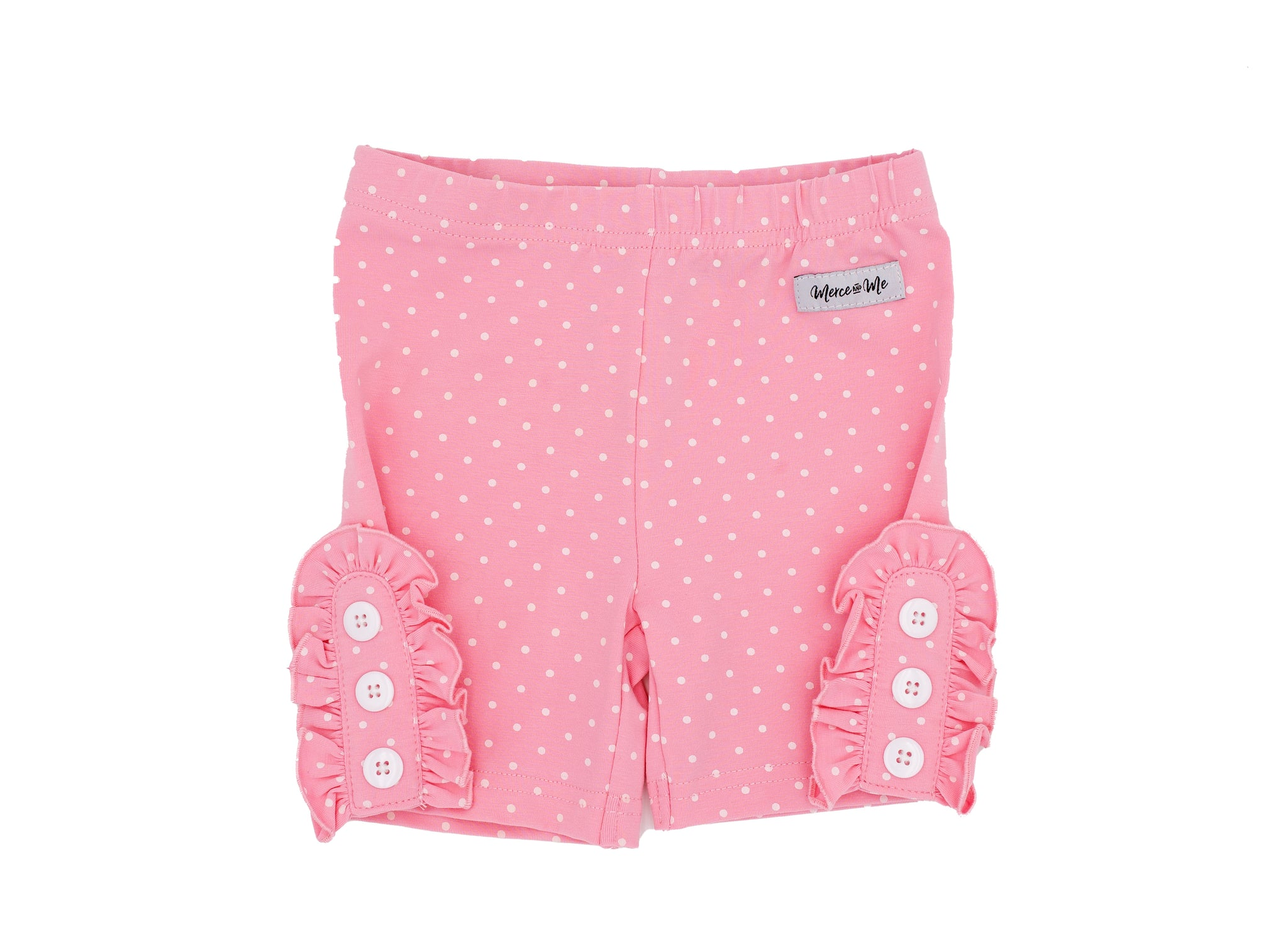 PINK DOT BETTIE BUTTONS SHORTIES