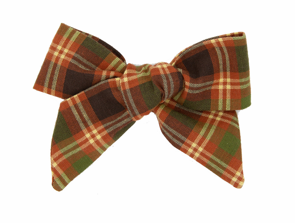 Thanksgiving Day Love Nana Fabric Bow