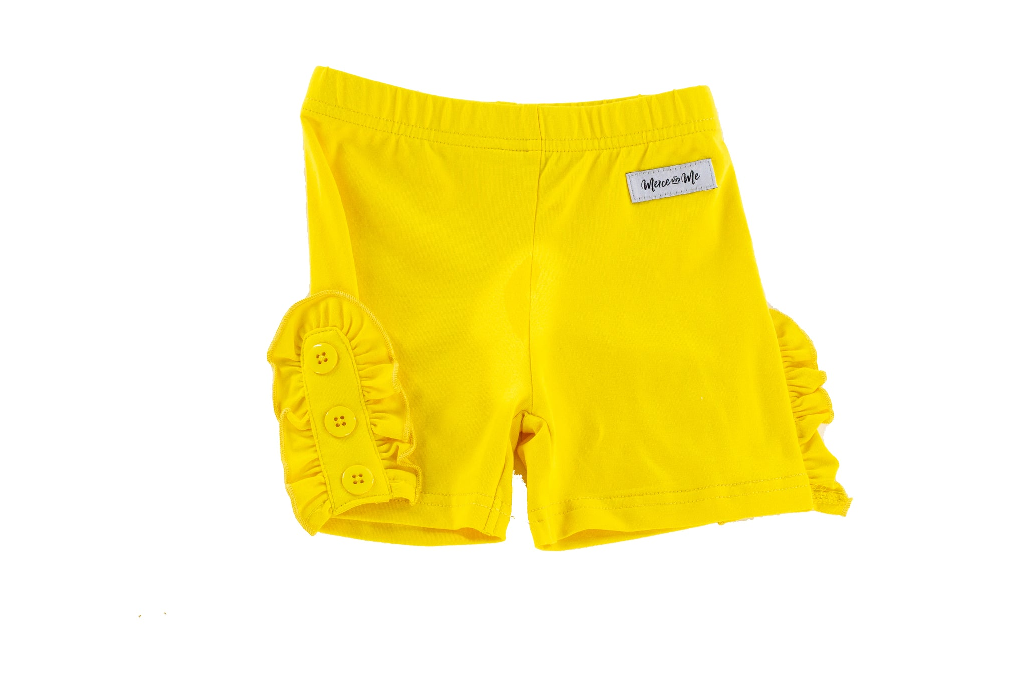 Bettie Buttons shorties in Yellow