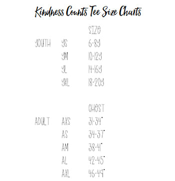 Heather Storm Kindness Counts Tee -- Adult