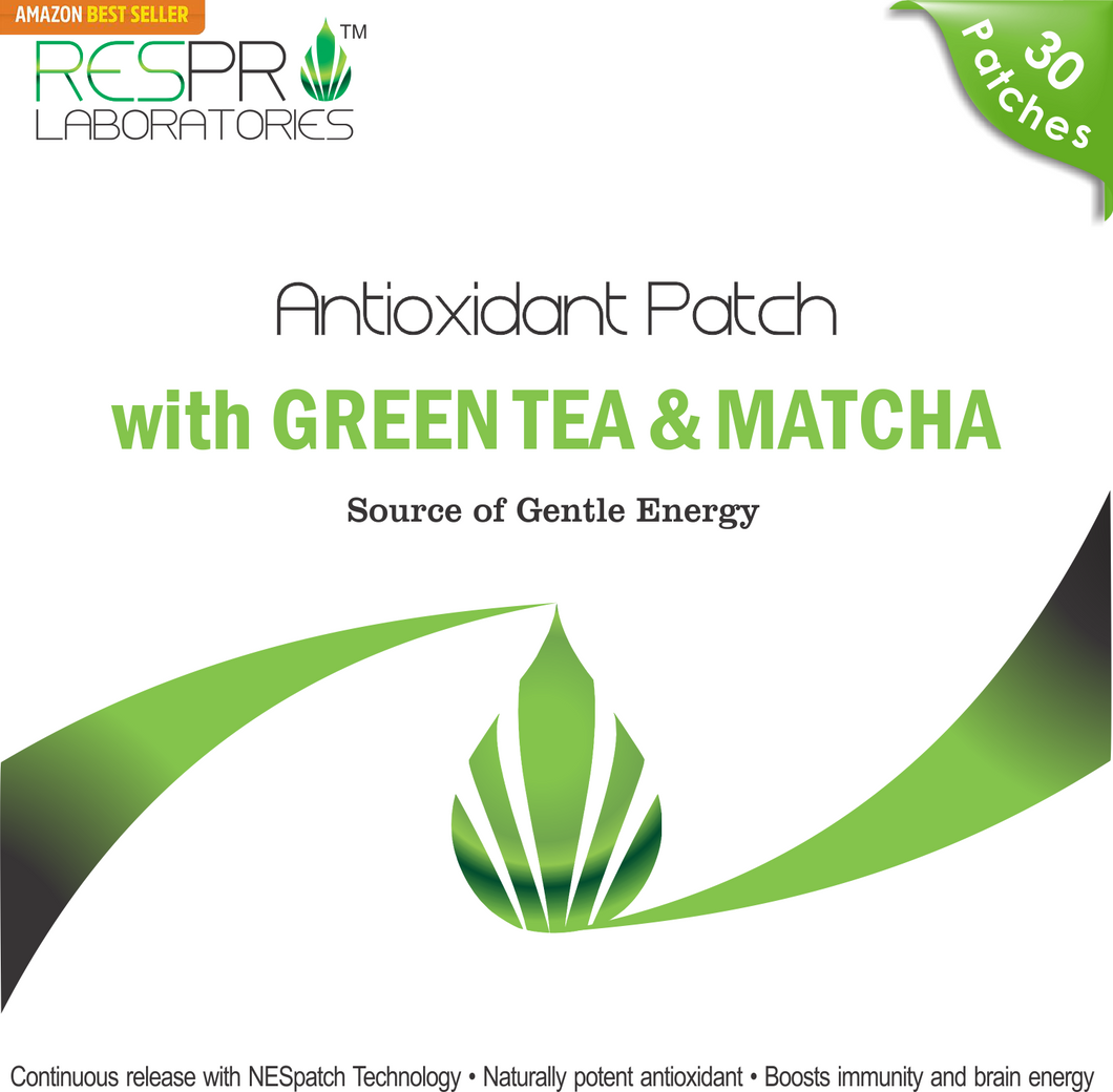 Antioxidant Patch Green Tea Matcha Energy Weight Loss Patch