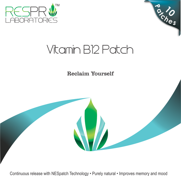 Vitamin B12 Patch Energy Patch Methylcobalamin Respro Labs
