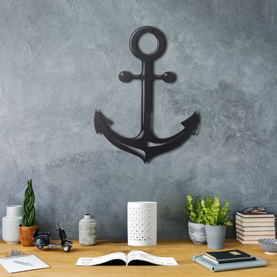 Bystag Metal Decorative Wall art anchor-wall art-metal wall art-metal decor-housewarming gift- christmas gift-wall decor-wall hangings