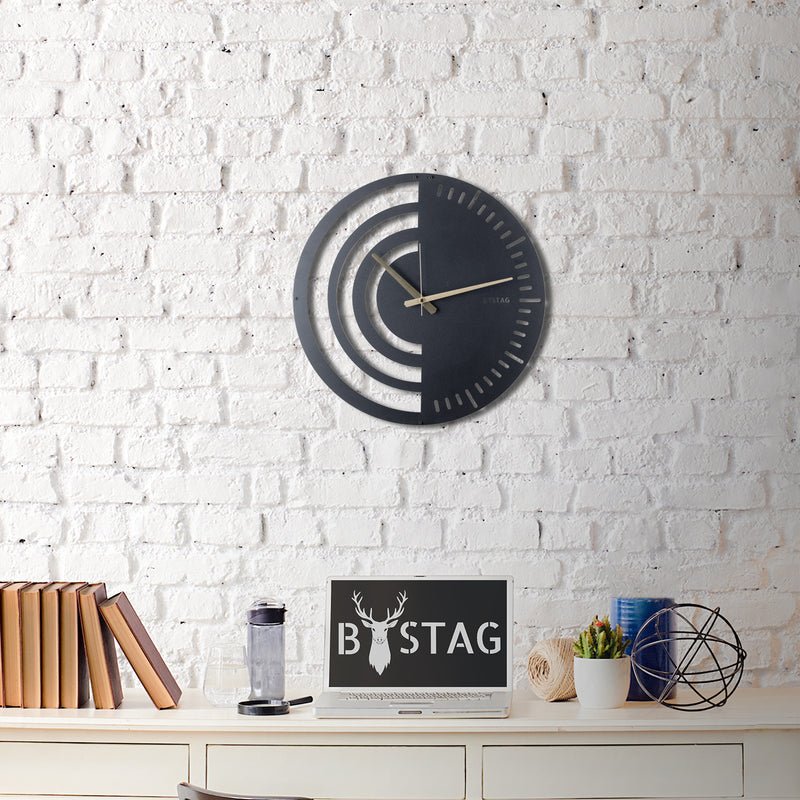 Bystag Metal decorative Wall clock Chrono-Bystag Büyük saat - Bystag Metal dekoratif Duvar Saati Chrono- Bystag Big Clock