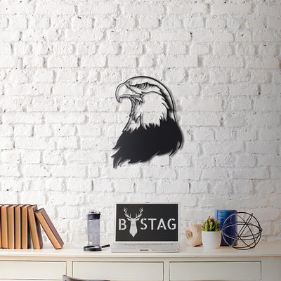 Bystag Metal Decorative Wall art eagle-wall art-metal wall art-metal decor-housewarming gift- christmas gift-wall decor-wall hangigns