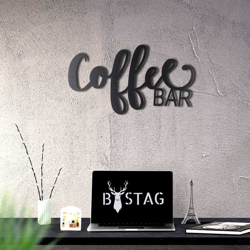 Bystag Metal Decorative Wall art coffee-coffee love-wall art-metal wall art-metal decor-housewarming gift- christmas gift-wall decor-wall hangings