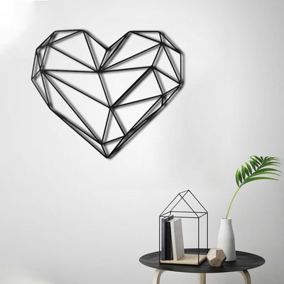 Bystag Metal Decorative Wall art heart-wall art-metal wall art-metal decor-housewarming gift- christmas gift-wall decor-wall hangings