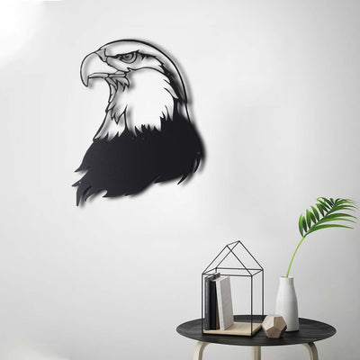 Bystag Metal Decorative Wall art eagle-wall art-metal wall art-metal decor-housewarming gift- christmas gift-wall decor-wall hangings