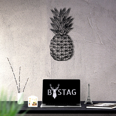Bystag Metal Decorative Wall art pineapple-wall art-metal wall art-metal decor-housewarming gift- christmas gift-wall decor-wall hangigns