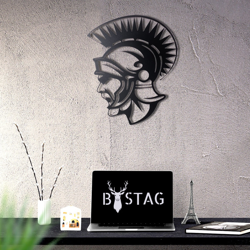 Bystag Metal Decorative Wall art soldier-wall art-metal wall art-metal decor-housewarming gift- christmas gift-wall decor-wall hangings