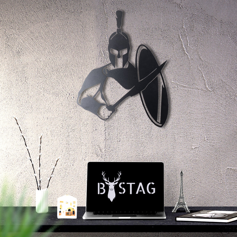 Bystag Metal Decorative Wall art sparta-wall art-metal wall art-metal decor-housewarming gift- christmas gift-wall decor-wall hangings