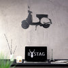 Bystag Metal Decorative Wall art vespa-wall art-metal wall art-metal decor-housewarming gift- christmas gift-wall decor-wall hangings