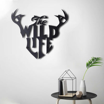 Bystag Metal Decorative Wall art wild life-wall art-metal wall art-metal decor-housewarming gift- christmas gift-wall decor-wall hangings