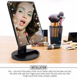 Professional LED Touch Screen Makeup Mirror - Razvanti.com