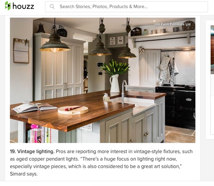 We are loving this article from Houzz about the new 2018 design trends!
