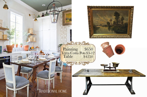How to create your own European inspired kitchen using some of our furniture and home accessory pieces