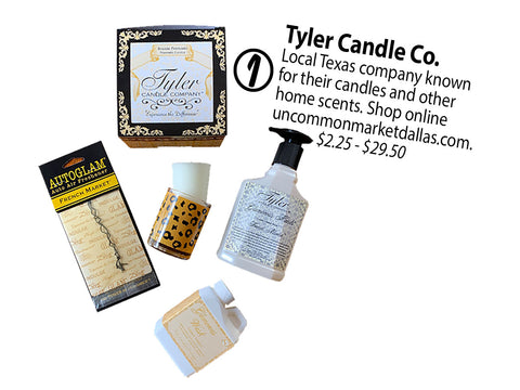 Tyler candle company has the perfect gifts for your home!