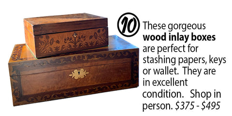 Wooden Inlay Boxes
