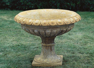 Garden, Urn, Round, Shallow, Long Neck, 2113, RG76