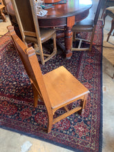 Gothic Oak Chair with Crest