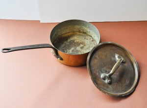 Copper Cooking Pot with Lid