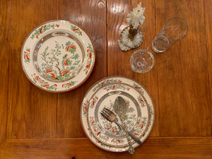 Copeland India Tree place setting