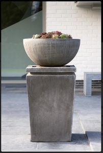 Garden, Bowl with Plinth, Contemporary, 2160, RG76