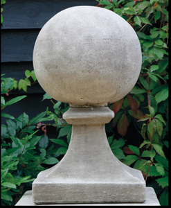 Cast Concrete Medium Finial Ball Statue