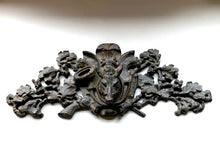 Black Forest Style Cornice with Boar Head and Bugle