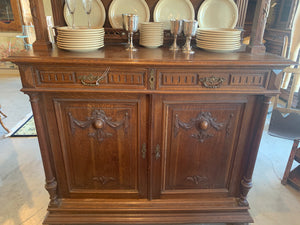 Bottom portion of French Cabinet Hutch
