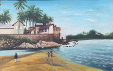 Cayenne Beach Oil Painting