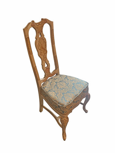 Drexel Heritage Sketchbook Collection Asian Chinoiserie Dining Chair