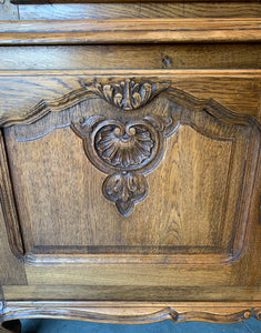 Oak China Hutch