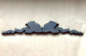 Back of Carved Oak Cornice Ribbon