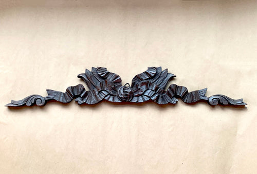 Carved Oak Cornice Ribbon