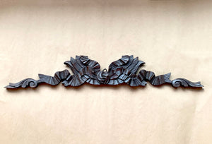 Front of Carved Oak Cornice Ribbon
