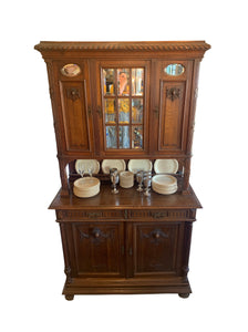 Front of French Cabinet Hutch