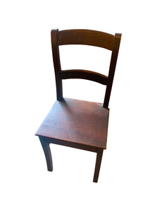 Dark Wood Chair
