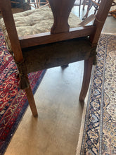 Back of cushion on French Chippendale Side Chair